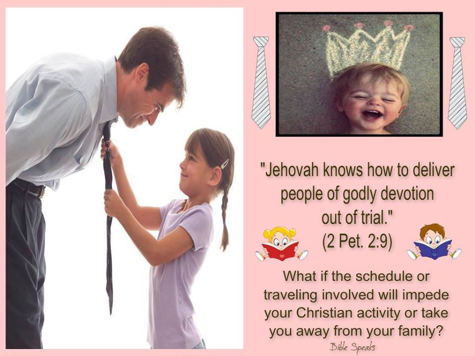 """Jehovah knows how to deliver people of godly devotion out of trial."""