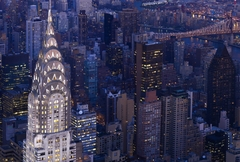 Chrysler Building in Manhattan