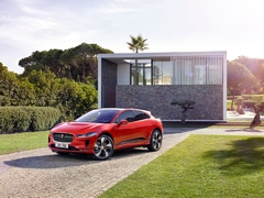 The I-Pace is Jaguar's first fully electric vehicle.