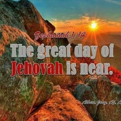 THE GREAT DAY OF JEHOVAH IS NEAR