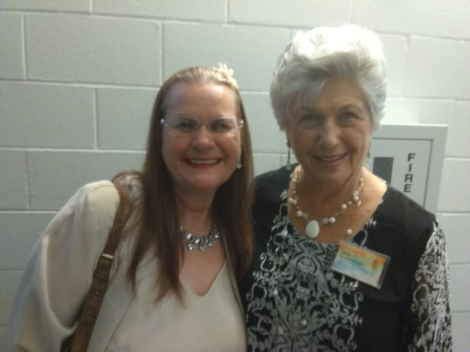 Me and  a very lovely elderly spiritual sister I know!