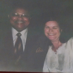 BROTHER SAMUEL F. HERD AND ME AT MY DENTON CIRCUIT ASSEMBLY IN 2006!