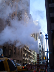As well as gas and electricity, Con Ed supplies steam to New York City