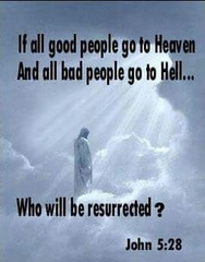 Who will be resurrected?
