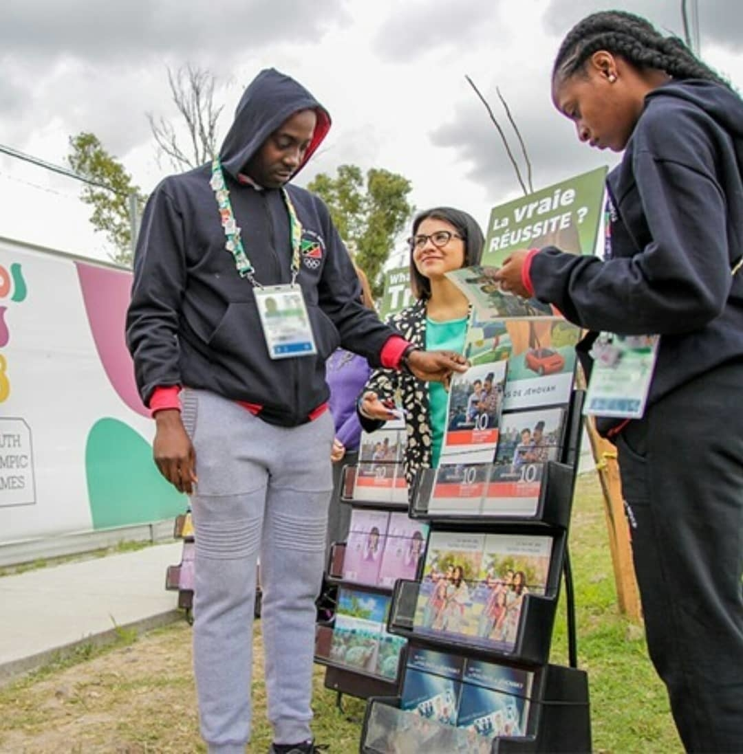 Massive campaign of public witnessing accompanies the 2018 Summer Youth Olympics in Argentina