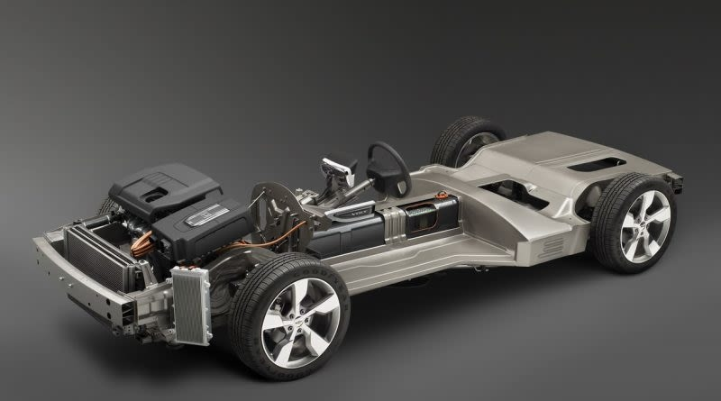 The Chevy Volt Chassis