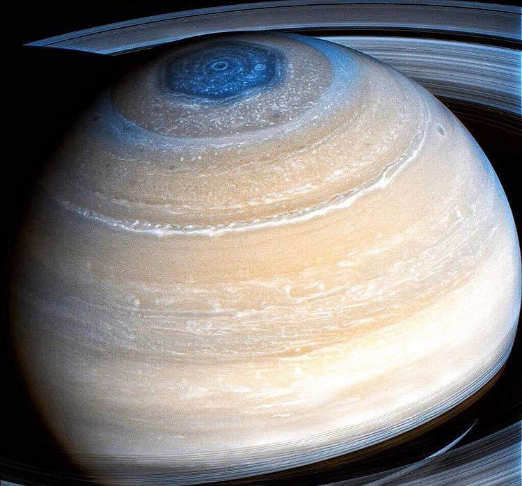 This is the clearest image ever taken of the Planet Saturn...