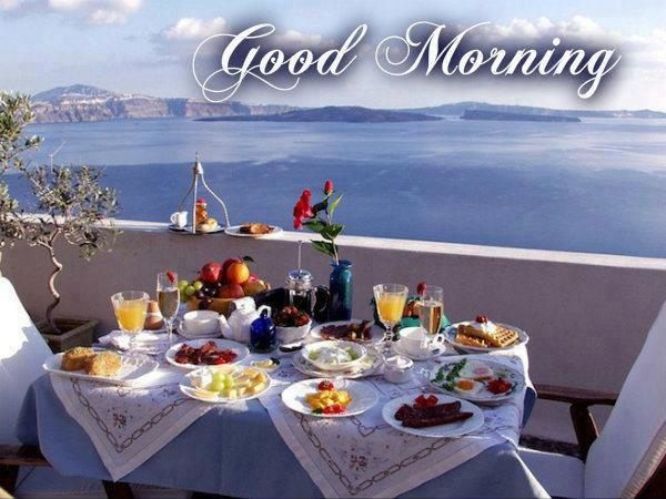 A nice  *BRUNCH*  with a wonderful view.........       ❤♥☼♥❤