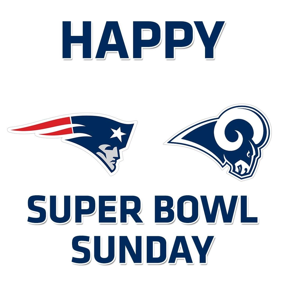 Happy SuperBowl Sunday!