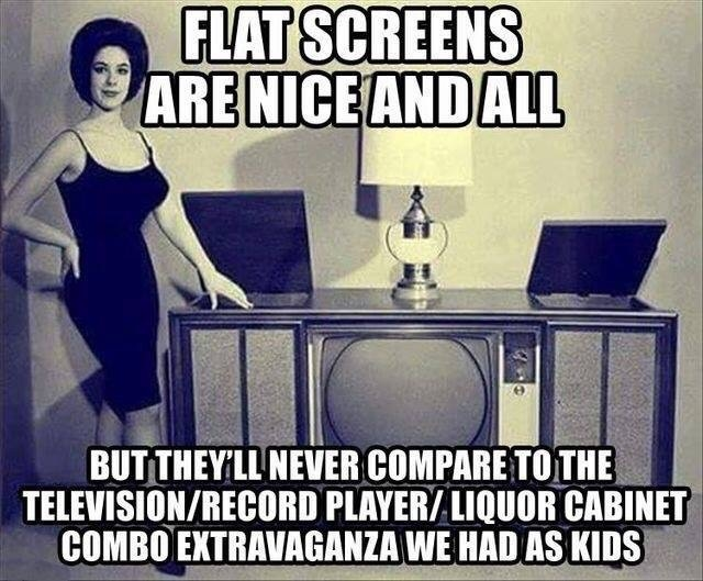 Televisions back in the day