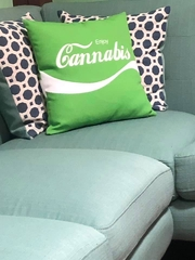 Cannabis pillow