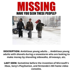 Missing: Ambitious Young Adults