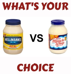 Hellman's vs. Miracle Whip