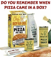 Do you remember when pizza came in a box?