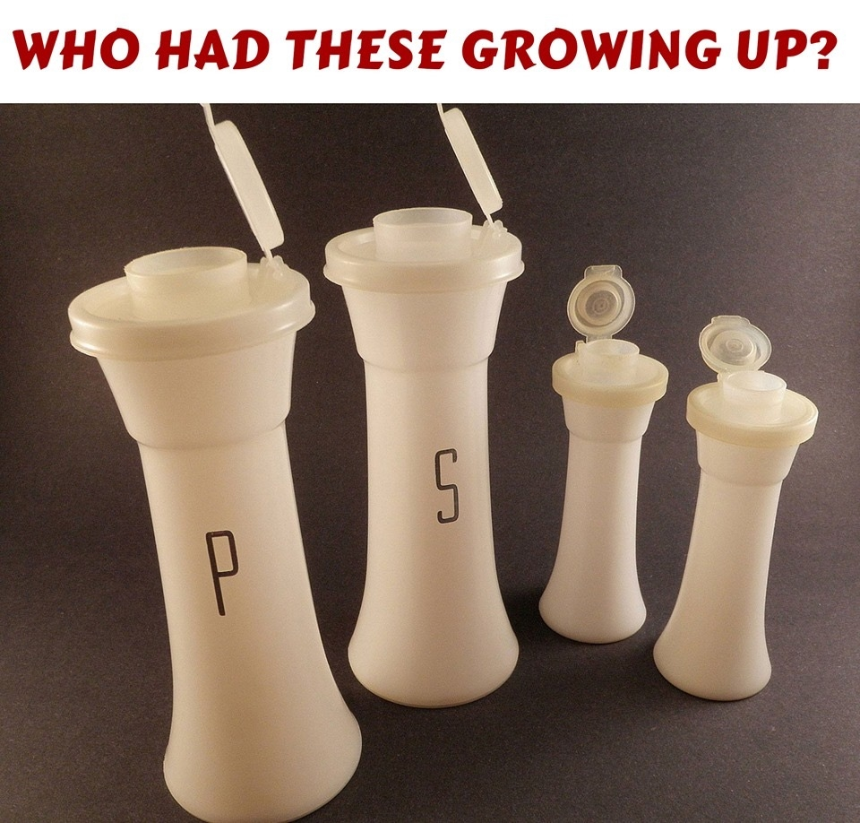 Classic Salt and Pepper shakers from the 1970's