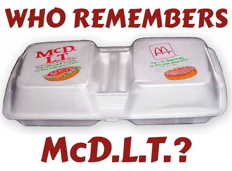 Who remembers the McD.L.T.?